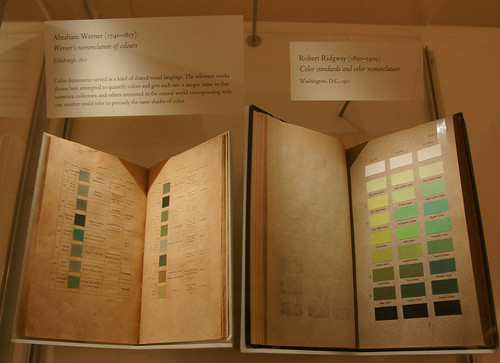 Old Color Standard Swatch books