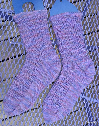 Window Pane socks