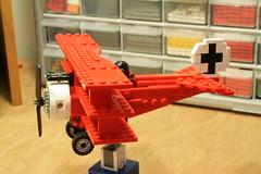 triplane (psiaki) Tags: airplane lego wwi fokker moc triplane