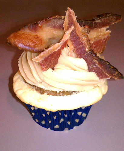 Bourbon Bacon Cupcake