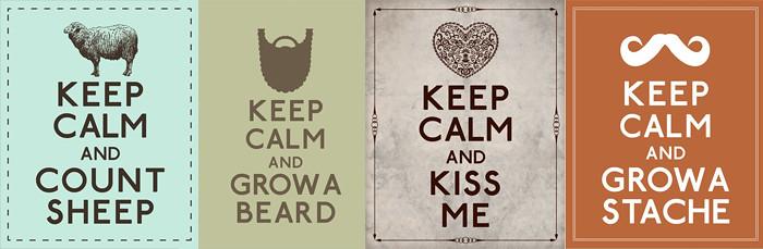 keep calm vintage 0