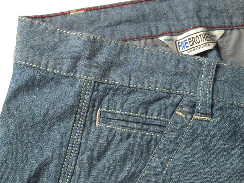 Five Brother / Chambray Short