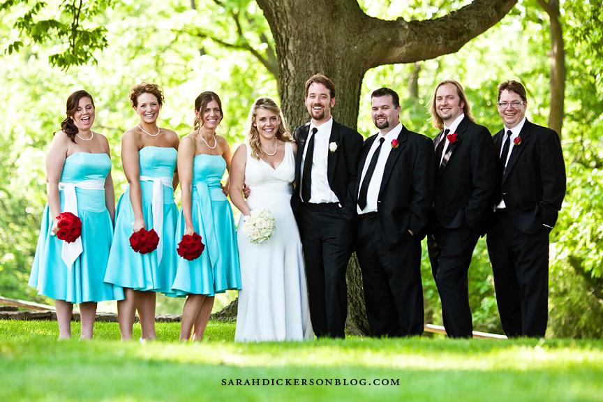 Hawthorne House Parkville Missouri wedding photographer