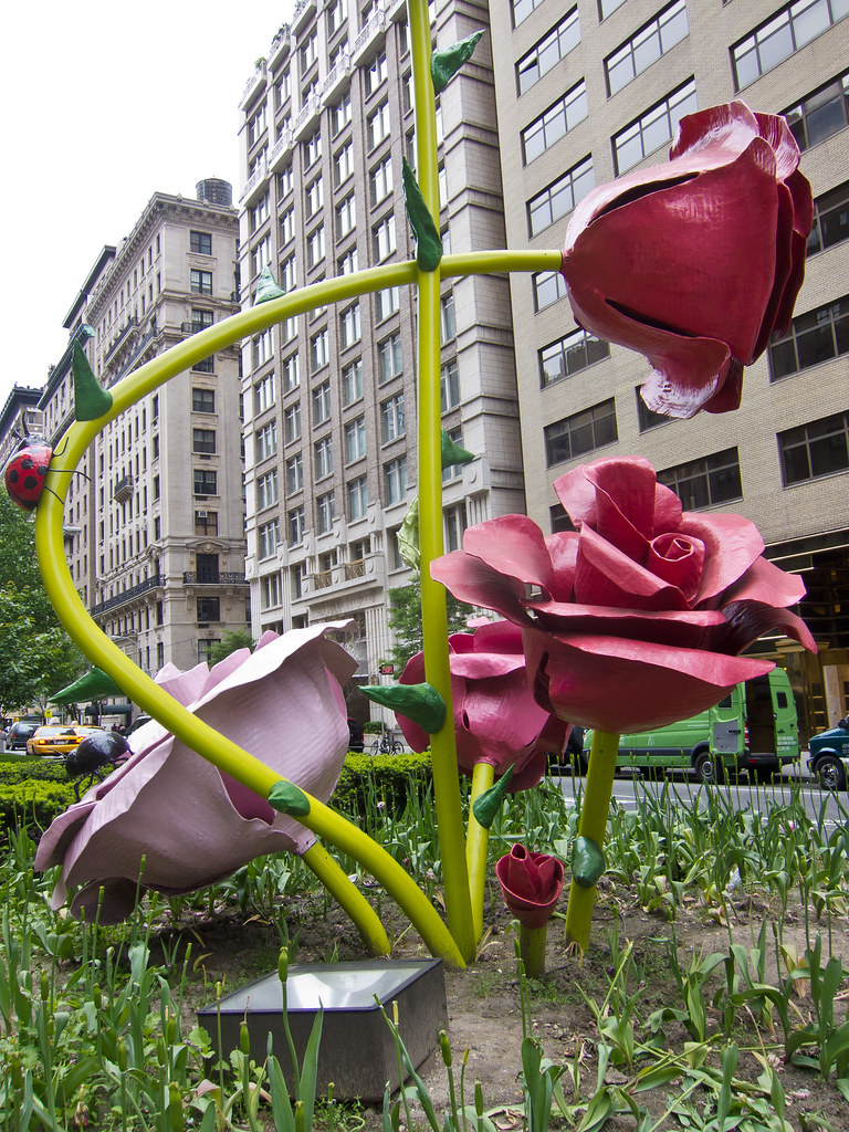 Roses on Park Avenue