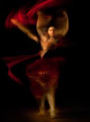 Motion in Chiaroscuro (Alfredo11) Tags: ballet woman motion girl dance movement mujer ballerina flash movimiento effect chiaroscuro clasico bailarina claroscuro clasic efecto bballet mygearandme