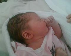 Steph Wignall's Baby - Catherine