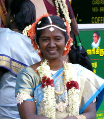 Tamil bride (bokage) Tags: wedding india bride dress madurai tamil tamilnadu