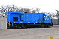 Super 7 (BravoDelta1999) Tags: ohiocentral ohcr railroad pennsylvaniarailroad prr railway newark ohio ge b237r 4095 conrail monongahela mga