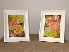 "Framed pictures ""Roses"""