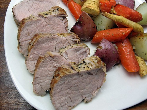 Roast Pork with Root Vegetables