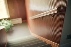Staircase (Benoit.P) Tags: wood old canada vintage stair university montréal benoit mtl retro concordia 50 1950 fifty paille troispistole benoitp