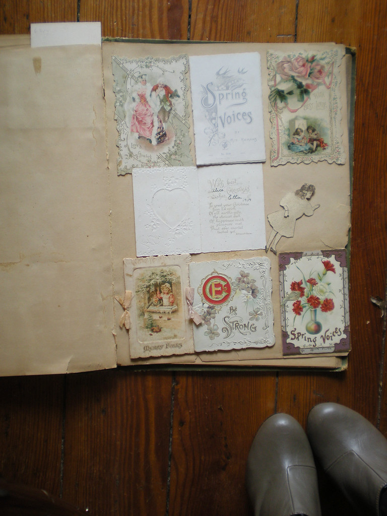 100 Year Family Scrapbook for the Girls