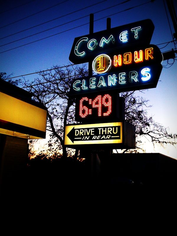 iPhoneography: Comet Cleaners number 001