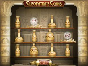 free Cleopatra's Coins slot bonus feature