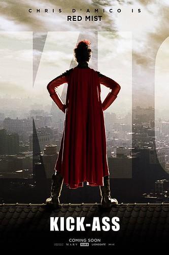 Kick-Ass Movie Poster Christopher Mintz-Plasse