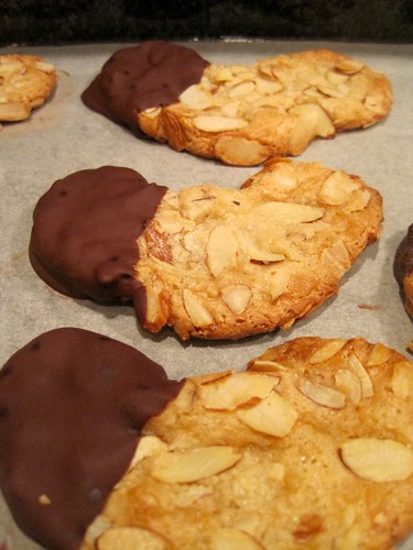 Almond Crescent Cookies Recipe — Dishmaps