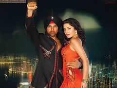 [Poster for Singh is Kinng with Singh is Kinng, Anees Bazmee, Akshay Kumar, Katrina Kaif]