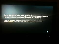 Geen YouTube meer op mijn TV (foto door: PiAir (Old Skool))