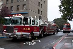 UC Berkeley protest-16 (Pye42) Tags: california truck berkeley protest police firetruck vehicle firemen bfd ucberkeley wheelerhall ucbprotest