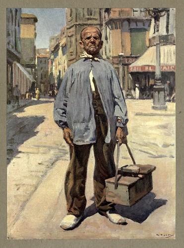 022-Un abuelito murciano-An artista in Spain 1914- Michael Arthur C.