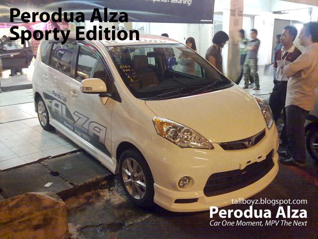 Perodua Alza Interior. Perodua Alza Sporty Edition