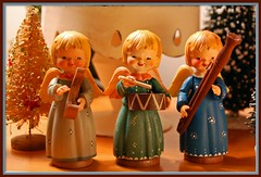 Anri Angels (contrarymary) Tags: christmas wood holiday glitter vintage weihnachten wooden holidays joy noel christmastree ornaments angels christmasdecorations figurine merrychristmas goodwill christmasornaments vintagechristmas feliznavidad babbonatale buonnatale anri goodwishes goodhealth froheweihnachten godjul joyeuxnol  vrolijkekerstmis gesegneteweihnachten ferrndiz vintagetreasures bottlebrushtrees  juanferrandiz ferrndiz