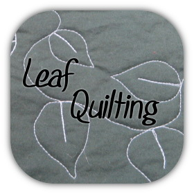 leaf quilting