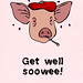 Swine Flu card by Andrew Huff