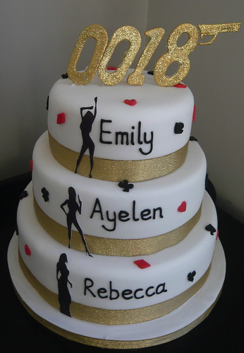 birthday cakes for girls 18th. James Bond 18th Birthday Cake