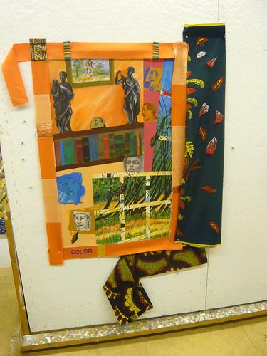 Painting made at Yaddo
