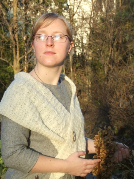 My Moebius shawl