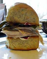 Thanksgiving Leftover Sandwich (PlaysWithFood) Tags: thanksgiving sandwich leftovers