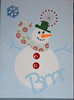 Snowman Card (KansasA) Tags: christmas xmas snowman cricut cricutexpression