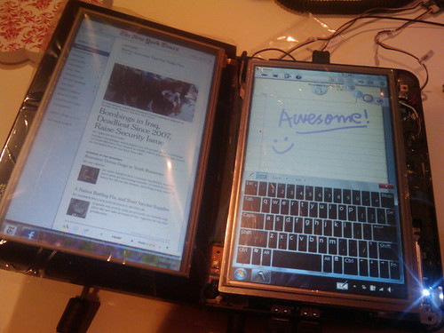 Dell Inspiron Mini 9 Dual Screen Tablet Mod