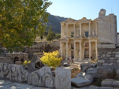 Celsus Library in Efes/Ephesus