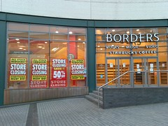 Borders closing in the Bullring