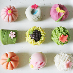 absolute vegan! (p o n z u) Tags: japanese sweets wagashi