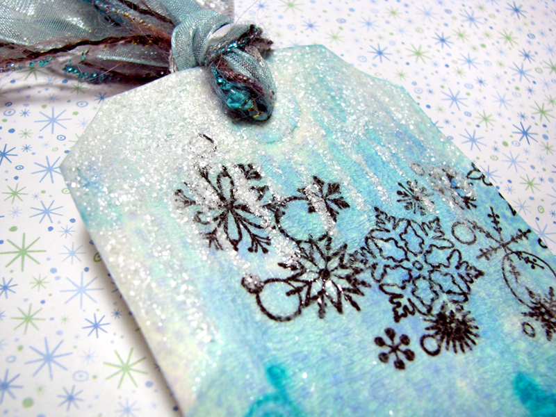 Winter Wishes Tag :: Icicles