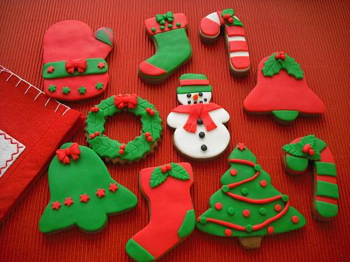 Yeni yıl kurabiyeleri 1