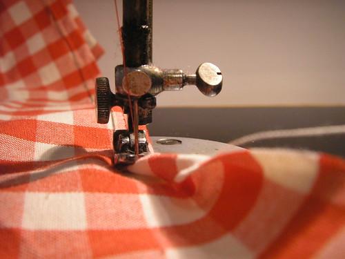 Costura sem alinhavo