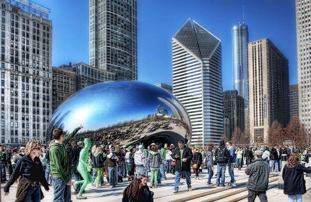 Green Man in Chicago