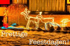 Prettige Feestdagen! (KennethVerburg.nl) Tags: winter sneeuw nederland flevoland almere almerehaven