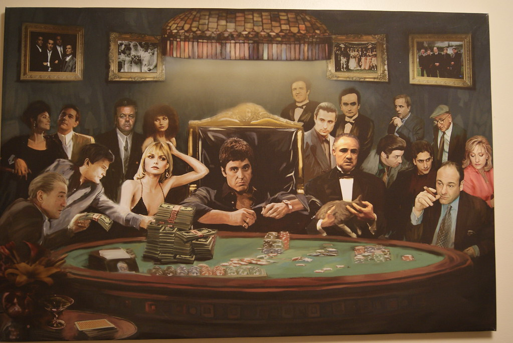 Godfather Wall Paint