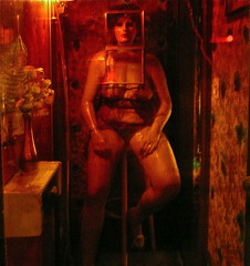 hoerengracht 1 (alev.adil) Tags: sculpture london art amsterdam women nationalgallery installation whores prostitutes redlightdistrict kleinholz hoerengracht
