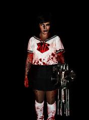 Zombie machine girl