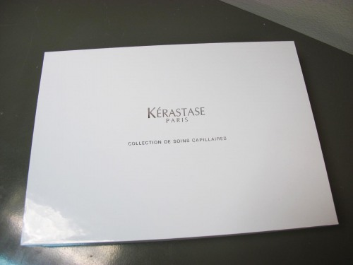 Kerastase hair care minis set
