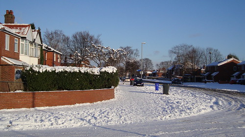 Hardy Lane in snow