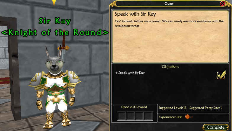 Anglorum / Quest / Speak with Sir Kay 4253624166_6b76c26a9c_o