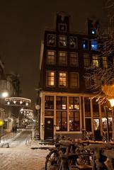 Jordaan - Amsterdam Centre (JKL Fotografie) Tags: amsterdam jordaan egelantiersgracht snowpicture kerstsfeer wintersweer sneeuwplaatje