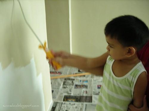 i'm painting